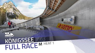 Königssee | BMW IBSF World Cup 2020/2021 - 2-Man Bobsleigh Heat 1 | IBSF Official