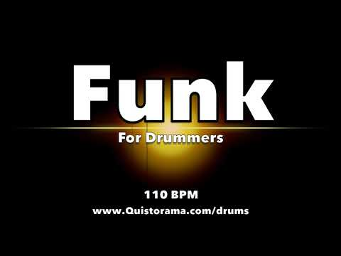 Funk Backing Track Jam for Drummers - NO DRUMS