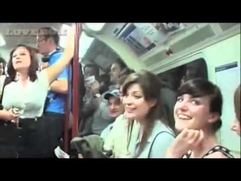 Swingle Singers underground tube subway