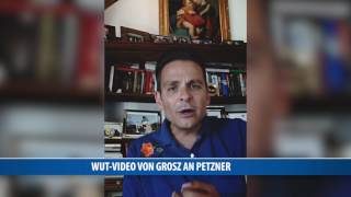 Wut-Botschaft von Ex-BZÖ-Politiker Grosz an Petzner