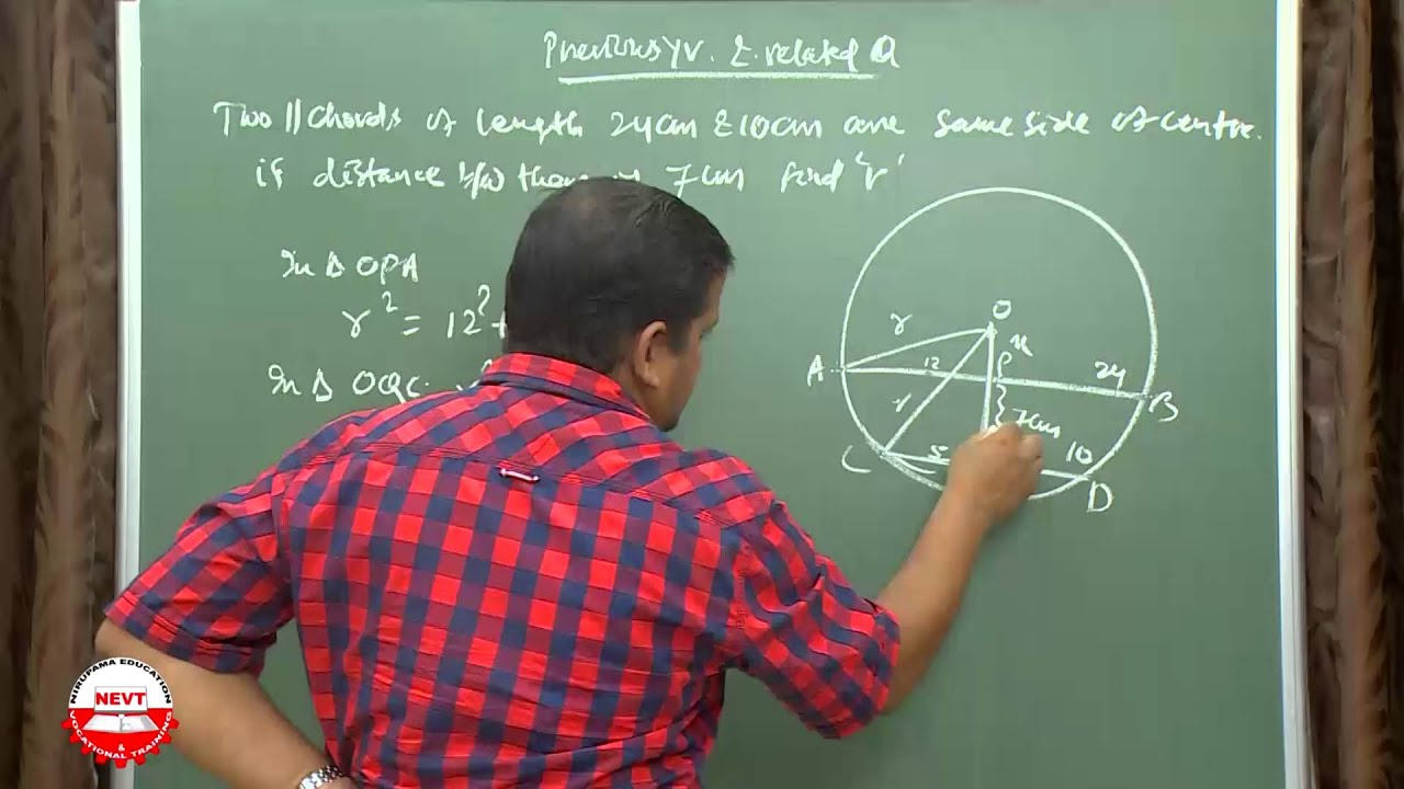 class 9 Math Circles E-Previous year & important questions - YouTube