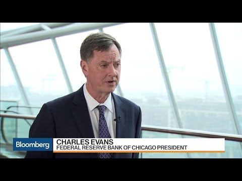 Fed's Evans on U.S. Economy, Inflation, Balance Sheet