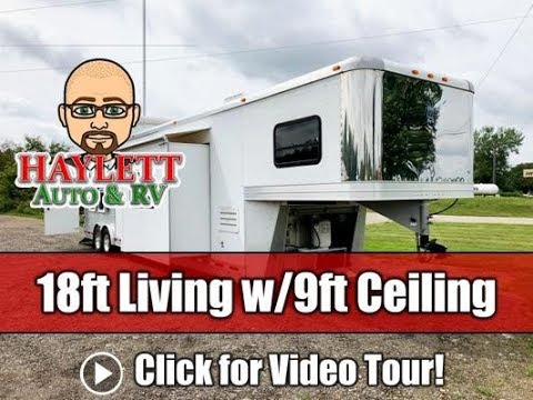 2012 Adam Super Custom Living Quarter Gooseneck Horse Trailer