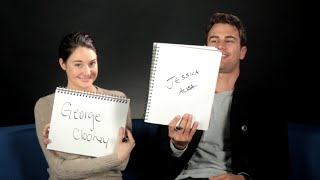 Shailene Woodley And Theo James Play The BuzzFeed BFF Game