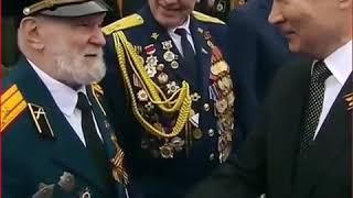 Ветеран поблагодарил Путина за возвращения Крыма  Я восхищён вашей операцией с Крымом!