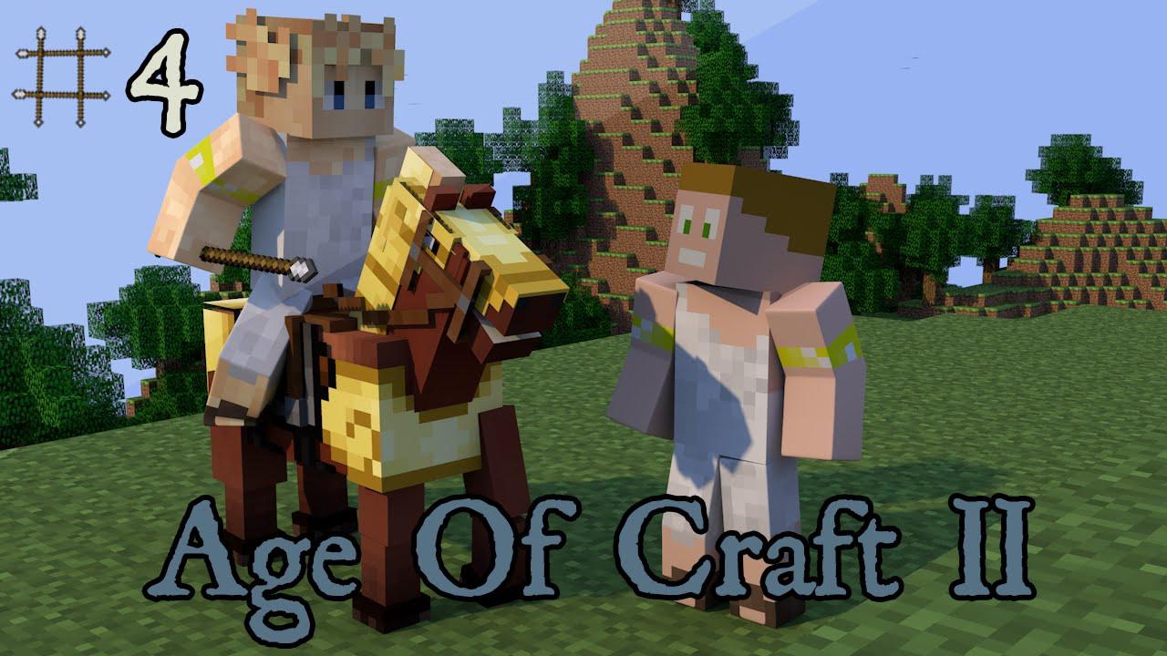 Minecraft - Age Of Craft II ; Episode 4 - L\'Antiquité ! [ Aventure ...