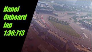 F1 2020 Hanoi Circuit Onboard Lap.