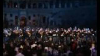 Il Canto degli Italiani (Inno di Mameli) al Colosseo