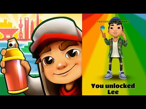 Subway Surfers World Tour 2017 - Shanghai - New Character Lee