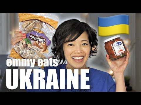 🇺🇦Emmy Eats UKRAINE - an American's first taste of Ukrainian treats