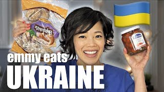 🇺🇦Emmy Eats UKRAINE - an American