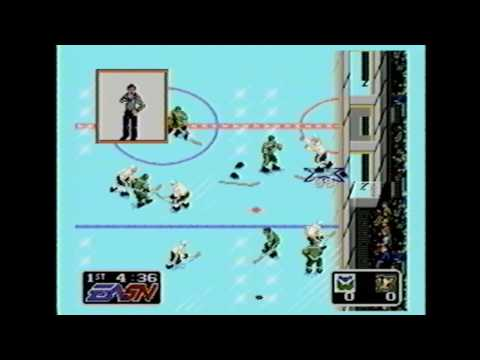 Classic Game Room HD - NHL HOCKEY '91 for Sega Genesis