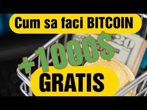 cum sa faci bitcoin