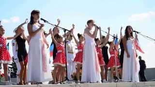 """2015-09-08 """"Мир без войны Дети Мира"""" День освобождения Донбасса"""