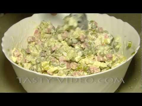 Салат Оливье (Зимний салат)