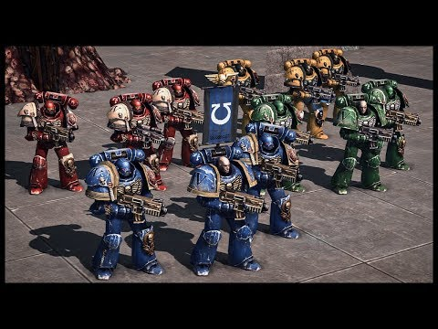 Opening Day! HUGE Space Marine Showdown - Warhammer 40k Arena