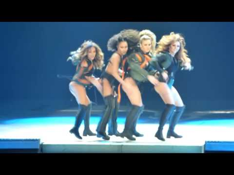 Little Mix intro, Hair/Whip My Hair - United Center, Chicago IL 3/14/17