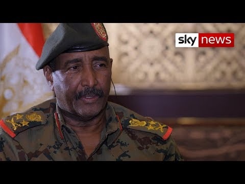 Sudan military chief wants 'consensus' on power transition