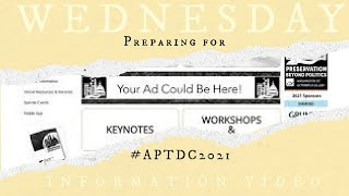 Wednesday Information Video: Square & Compass Looks forward to #APTDC2021