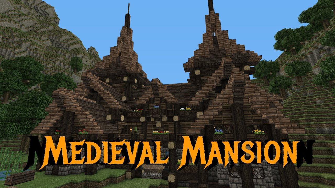 Minecraft Gundahar Tutorials Me val Rustic Mansion 1