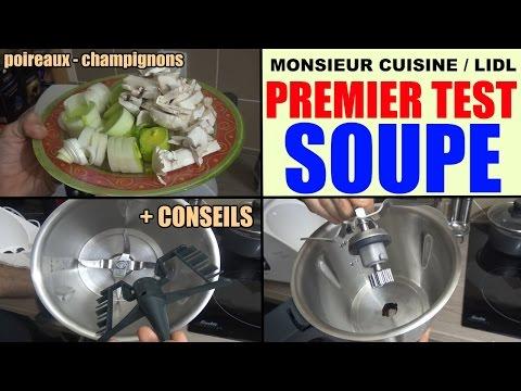 monsieur-cuisine-lidl-silvercrest-test-utilisation-conseils-recette-soupe-poireaux-champignons