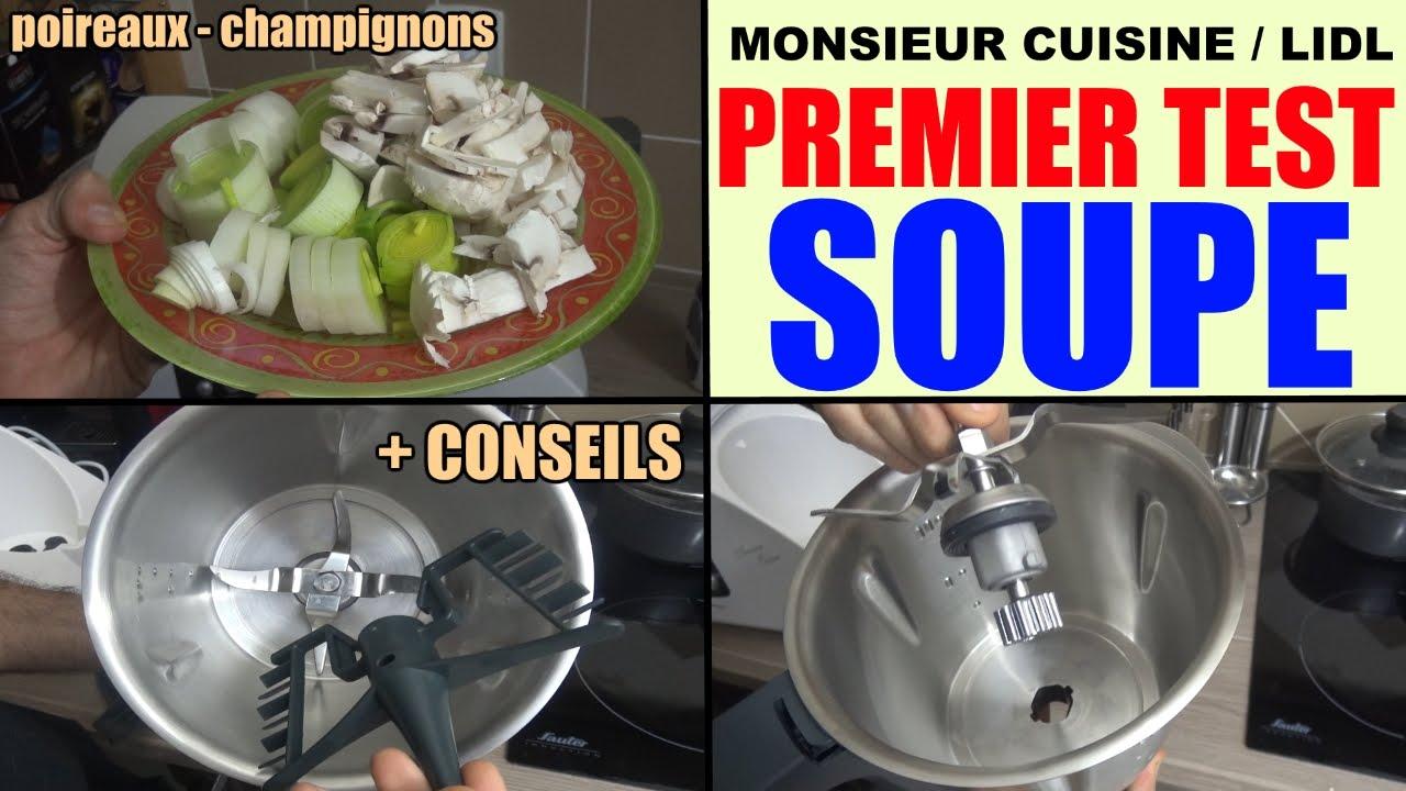 Monsieur Cuisine Lidl Silvercrest Test Utilisation Conseils Recette