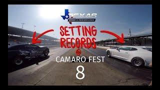 Texas Speed Goes To Camarofest 8!