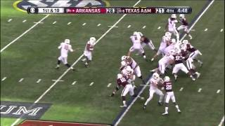 Texas A&M vs Arkansas 2014 Highlights