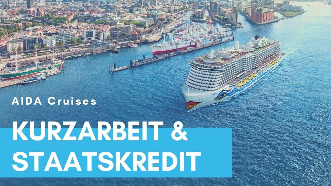 AIDA Cruises: Kurzarbeit und Staatshilfe