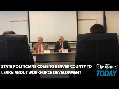 State politicians come to Beaver County to learn about workforce development