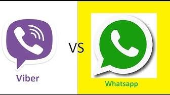 Viber vs Whatsapp   deutsch german