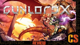 GUNLORD X - PS4 REVIEW (Video Game Video Review)