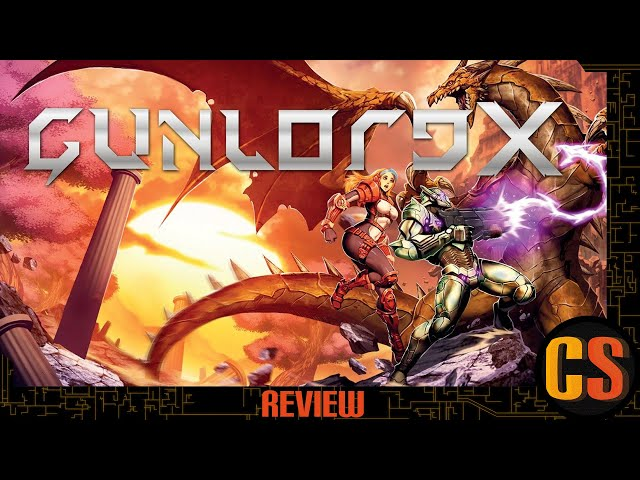 GUNLORD X - PS4 REVIEW
