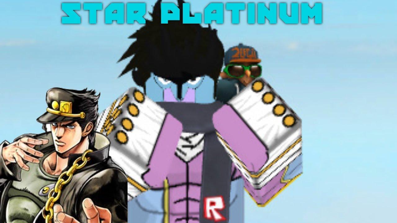 ROBLOX SCRIPT SHOWCASE: Star Platinum - YouTube