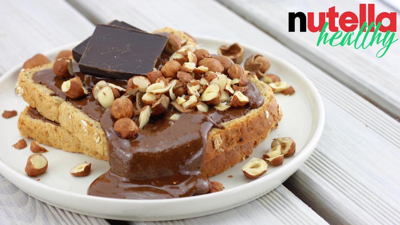 nutella healthy p te tartiner chocolat noisette recette healthy facile rapide youtube. Black Bedroom Furniture Sets. Home Design Ideas