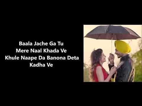 Kangani  love Punjabi song lyrics