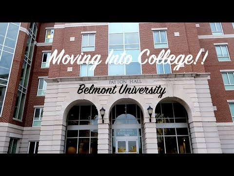 My college journey | Moving into Belmont University