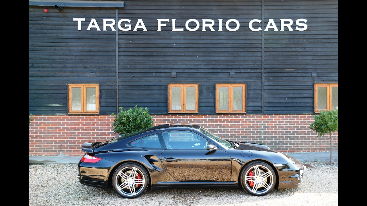 Porsche 997 Turbo Finished In Basalt Black Metallic For Sale At Targa Florio Cars In Sussex