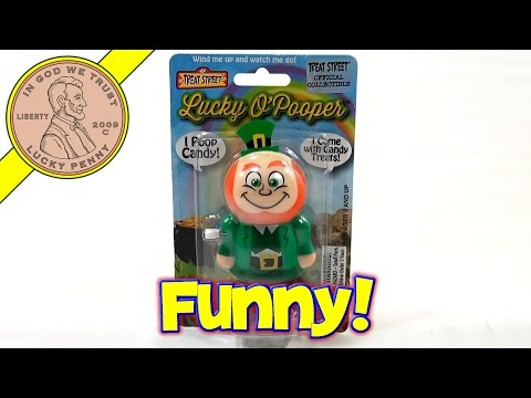 lucky-o'pooper-pooping-candy-leprechaun,-treat-street---st.-patrick's-day-2014