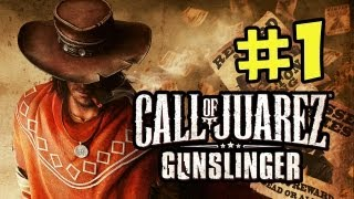 Call of Juarez Gunslinger Walkthrough Part 1 Howdy Partner (Xbox Live,PSN,Steam)