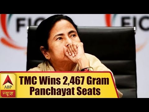West Bengal Panchayat Election: TMC Wins 2,467 Gram Panchayat Seats; BJP Outnumbers Left | ABP News