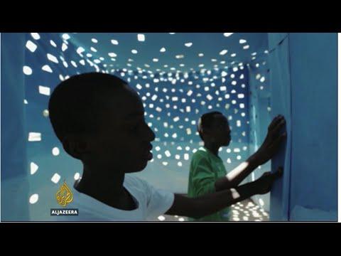 Modern African art shines at Dakar's Biennale