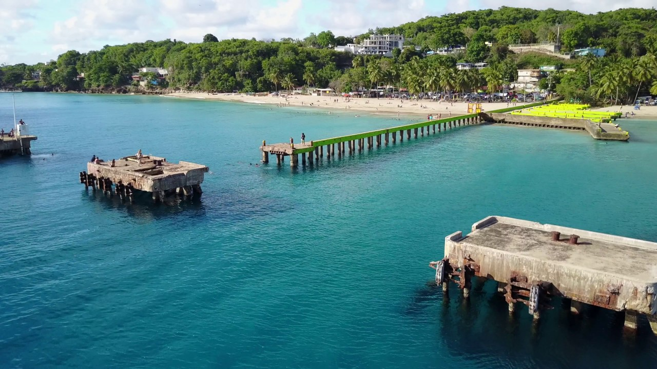 Crash Boat Beach Puerto Rico 4k