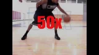 Weak Hand Dribbling Drills & Left Hand Ball Handling Circuit | Dre Baldwin