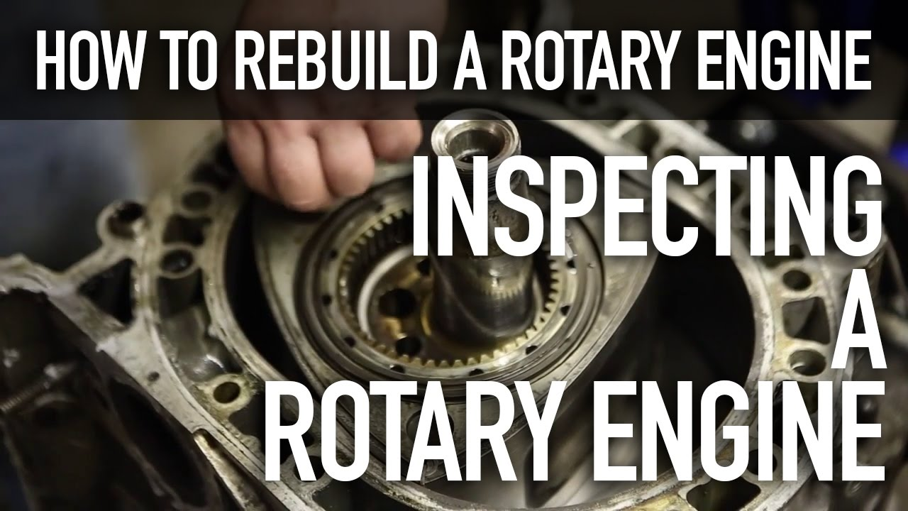 how to rebuild a rotary engine