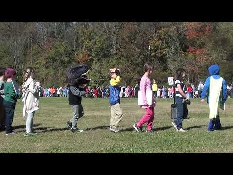 Abby at the Parade of Fiction - Corvian Community School