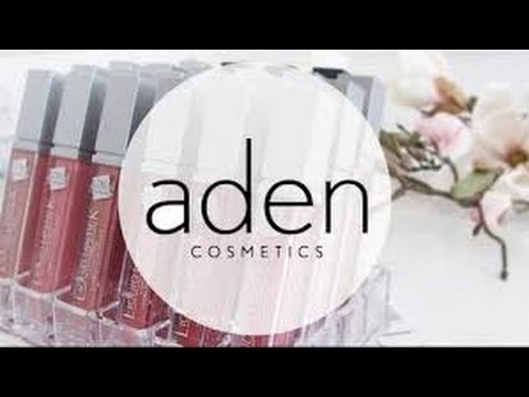 [REUPLOAD] Aden Liquid Lipstick swatches (i samarbete med ADEN)