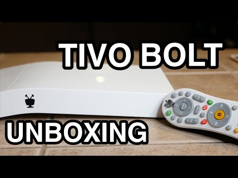 TiVo Bolt Unboxing: 4K Streaming, Commercial-Skipping DVR!