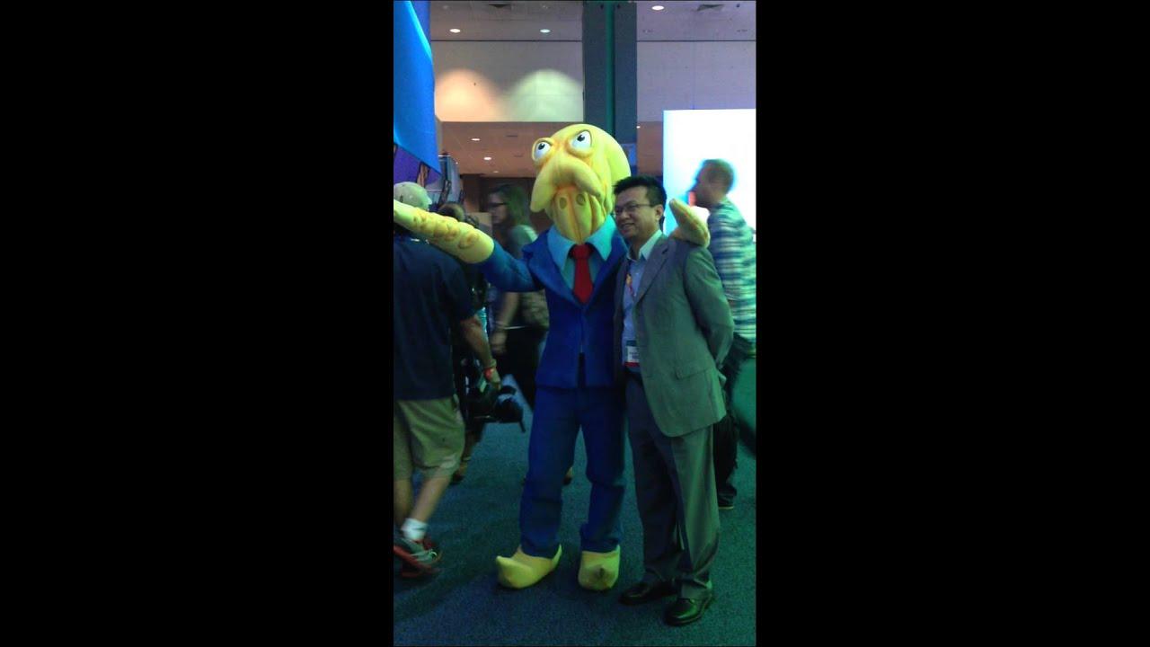 E3 2014 Octodad Walking Around Iphone 06 11 2014 Youtube