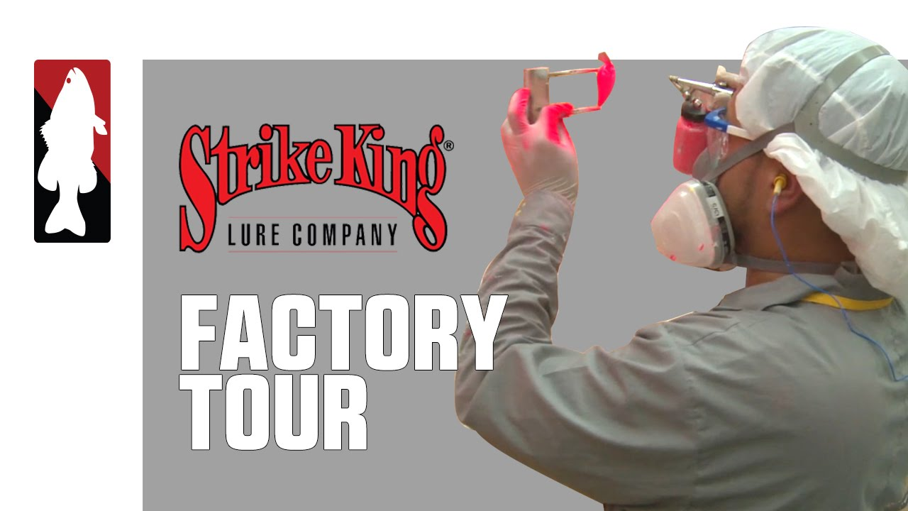 Behind the Scenes of Strike King's Crankbait Manufacturing Process  - Buy American